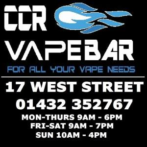 ccr vape bar hereford