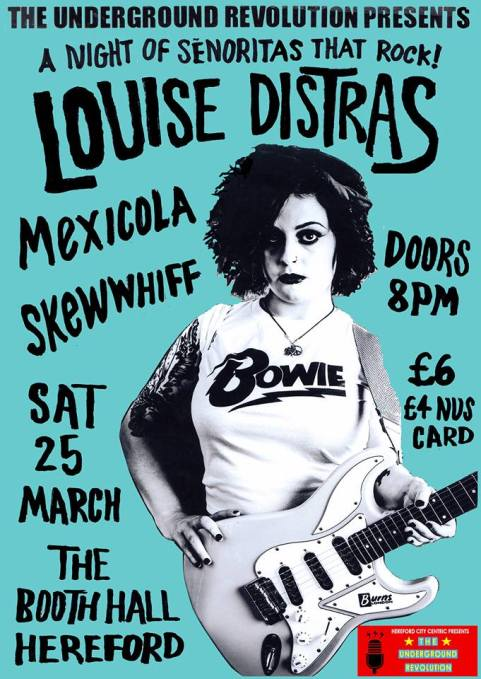 mexicola supports louise distras at the booth hall hereford